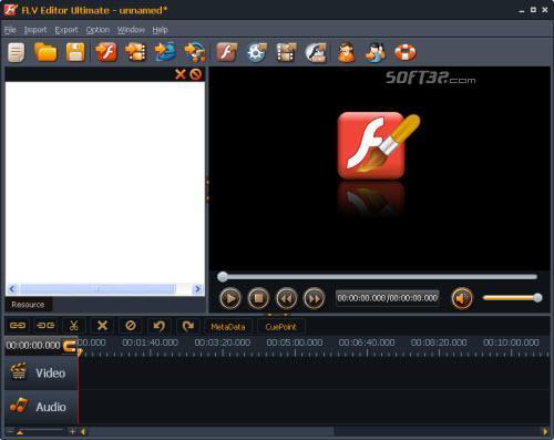 Moyea FLV Editor Lite Screenshot 2