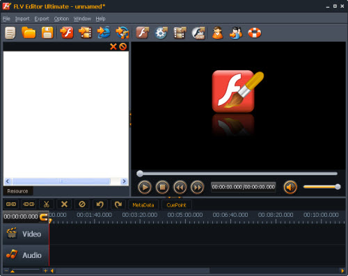 Moyea FLV Editor Lite Screenshot