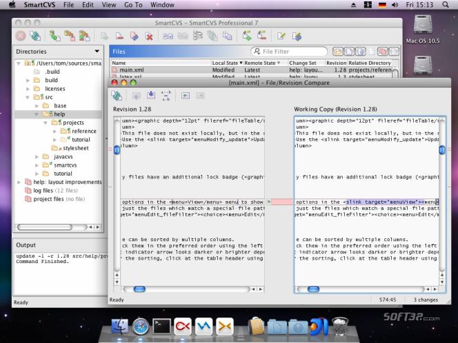 SmartCVS Screenshot 2