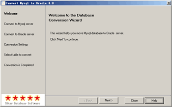 Convert Mysql to Oracle Screenshot