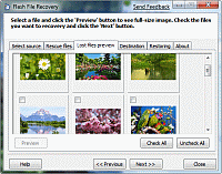 PANTERASoft Flash Recovery Screenshot 1