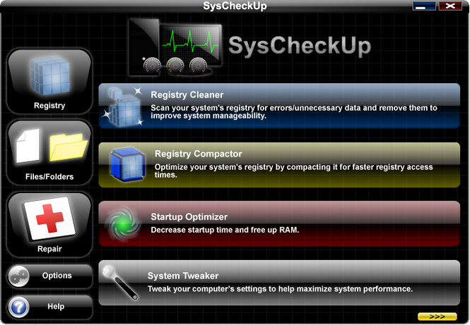SysCheckUp Screenshot 1