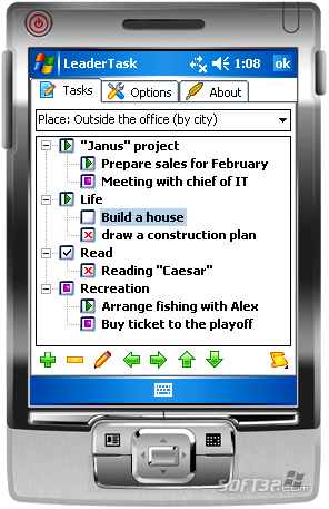 LeaderTask PDA Organizer Screenshot 3