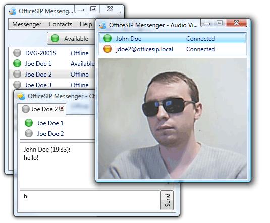 OfficeSIP Messenger Screenshot