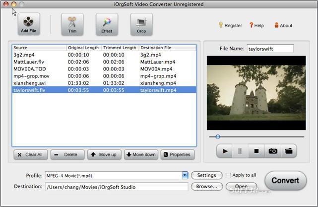 Video Converter for Mac Screenshot 2