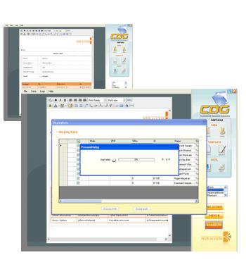 Customized Document Generator Screenshot