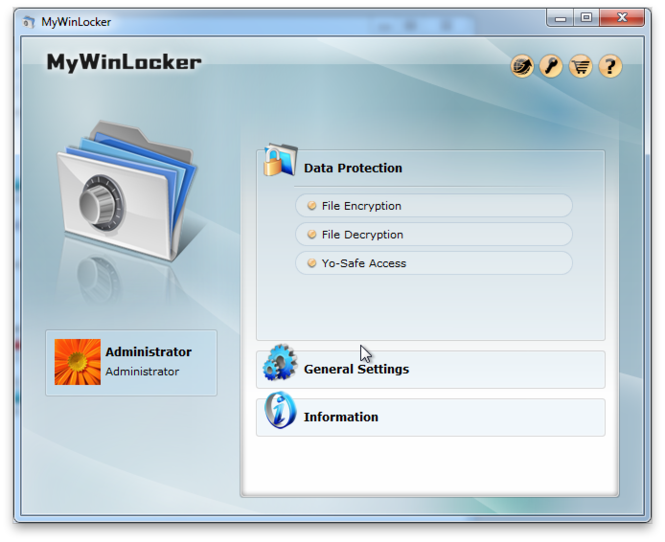 MyWinLocker Screenshot 2