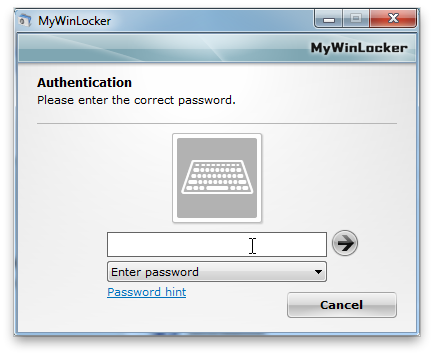 MyWinLocker Screenshot 3
