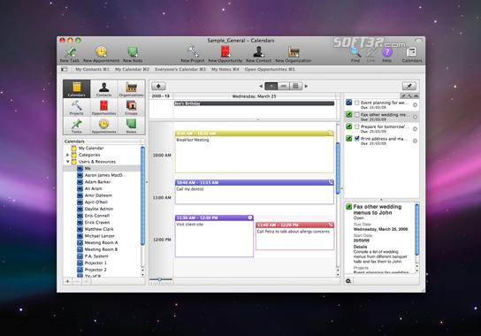 Daylite Screenshot