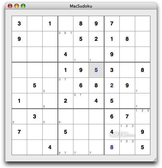 MacSudoku Screenshot