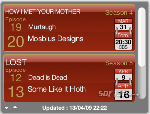 TV Show Tracker Screenshot