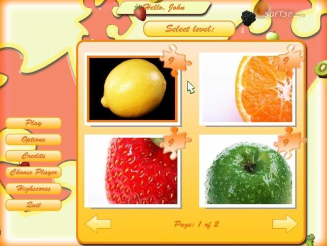 Fruit Jigsaw Screenshot 1