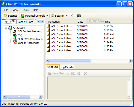 Chat Watch for Parents Screenshot 1