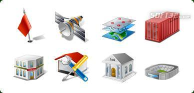 Icons-Land Vista Style GIS/GPS/MAP Icon Set Screenshot 2