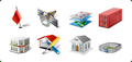 Icons-Land Vista Style GIS/GPS/MAP Icon Set 1