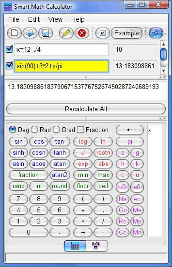 Smart Math Calculator Screenshot 2