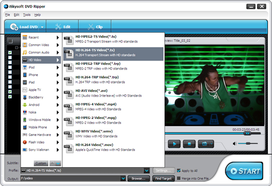 iSkysoft 3GP Video Converter Screenshot