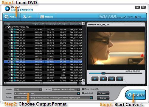 iSkysoft DVD Studio Pack for Windows Screenshot 2