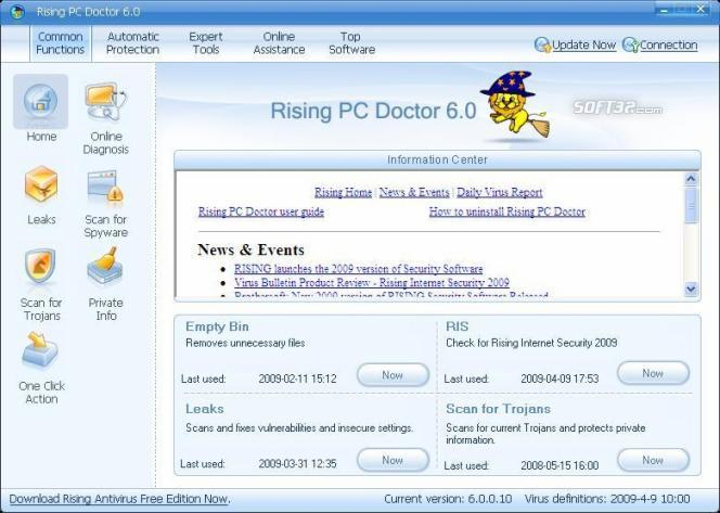 Rising PC Doctor Screenshot 3