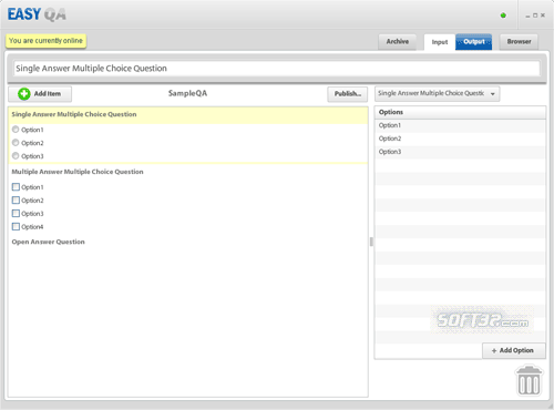 EasyQA Screenshot 1