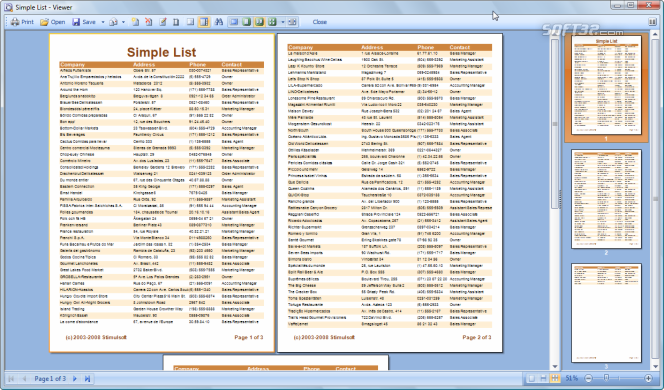 Stimulsoft Reports.Net with Source Code Screenshot 3