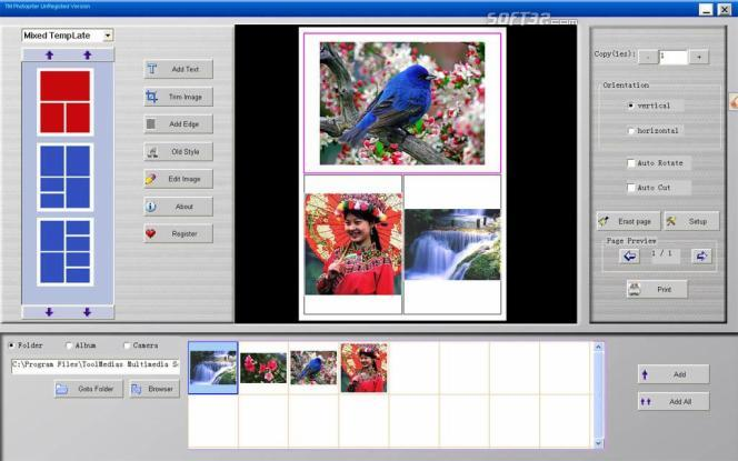 TM PhotoPrinter Screenshot 3