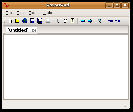 PowerPad Screenshot