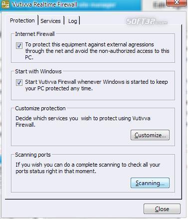Vuttiva Firewall Screenshot 3