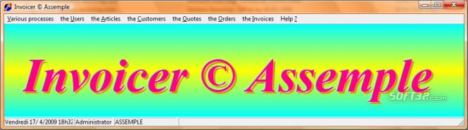 Invoicer © Assemple Screenshot 2