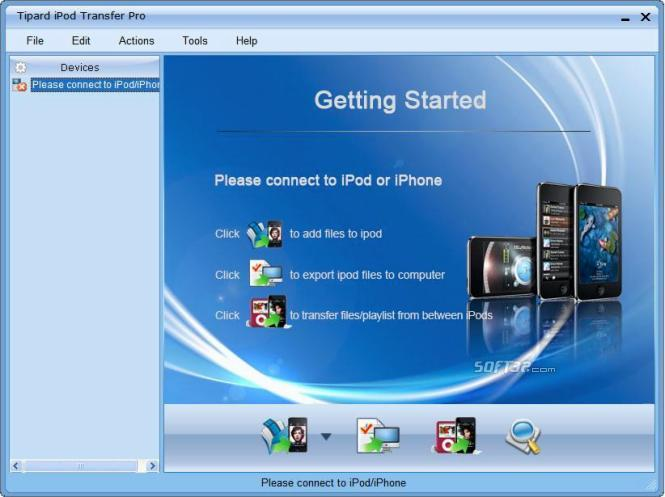 Tipard iPod Transfer Pro Screenshot 2