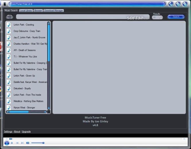 MusicTuner Screenshot 3