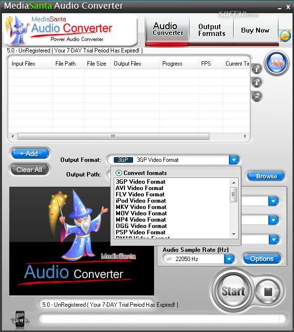 MediaSanta Audio Converter Screenshot 3