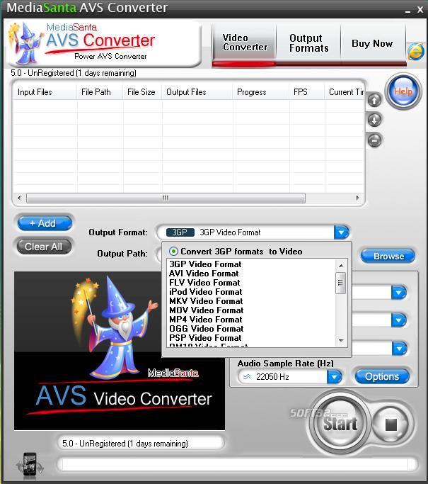 MediaSanta AVS Converter Screenshot 3