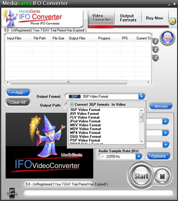 MediaSanta IFO Converter Screenshot