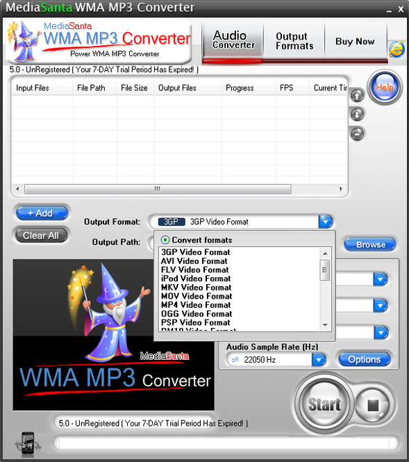 MediaSanta WMA MP3 Converter Screenshot 3