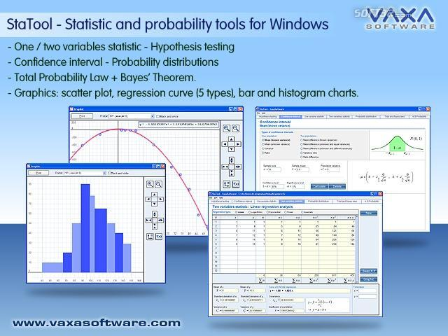 STATOOL Statistic and Probability Tools Screenshot 2