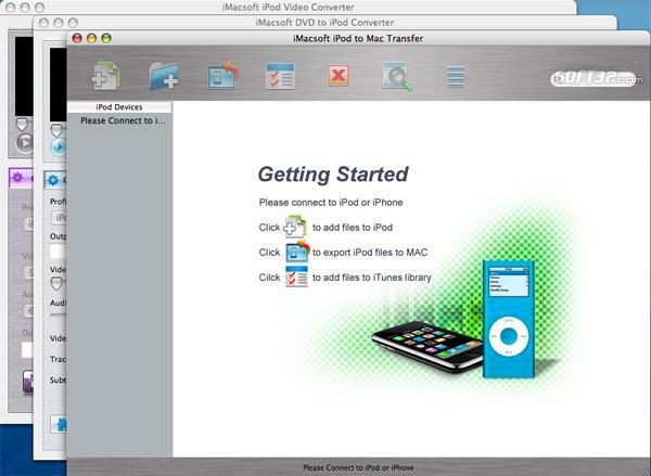 iMacsoft iPod Mate for Mac Screenshot 2