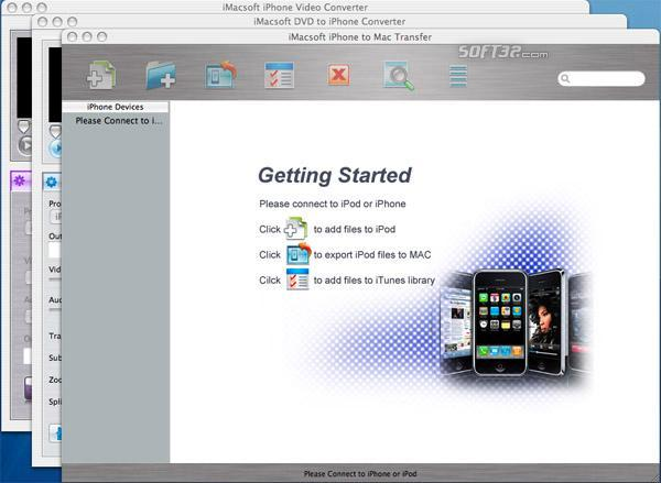 iMacsoft iPhone Mate for Mac Screenshot 2