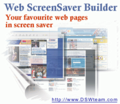 Web Screen Saver Builder 1