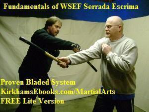 FREE Martial Arts Ebook Knife and Stick Screenshot