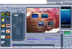 MPEG Video Wizard DVD Screenshot 1