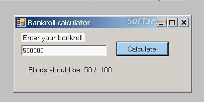 Titan poker calculator Screenshot 3
