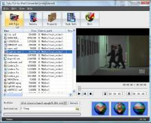 Tutu FLV to iPod Converter Screenshot 1