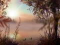Fog Lake Screensaver 1