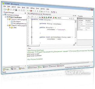 NaviCoder (Java IDE editor for Windows) - Freeware also available Screenshot