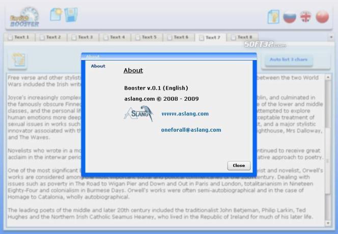 booster Screenshot 1