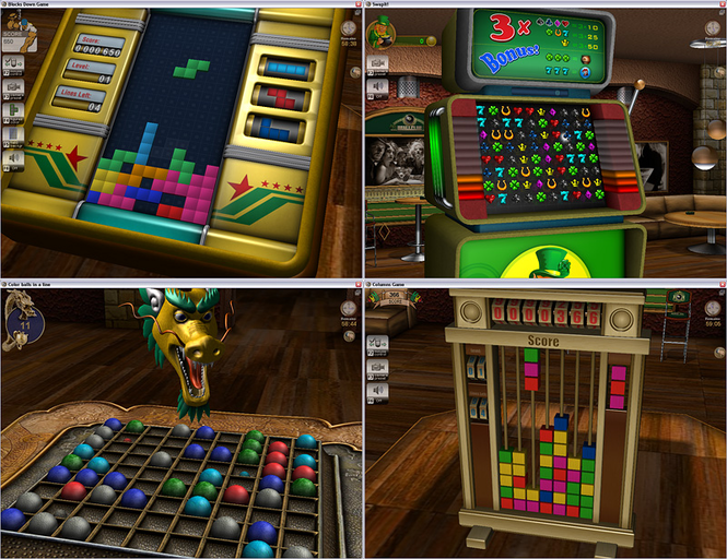 3D Arcade Games Pack Screenshot 1