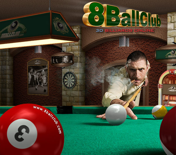 8BallClub Billiards Online Screenshot
