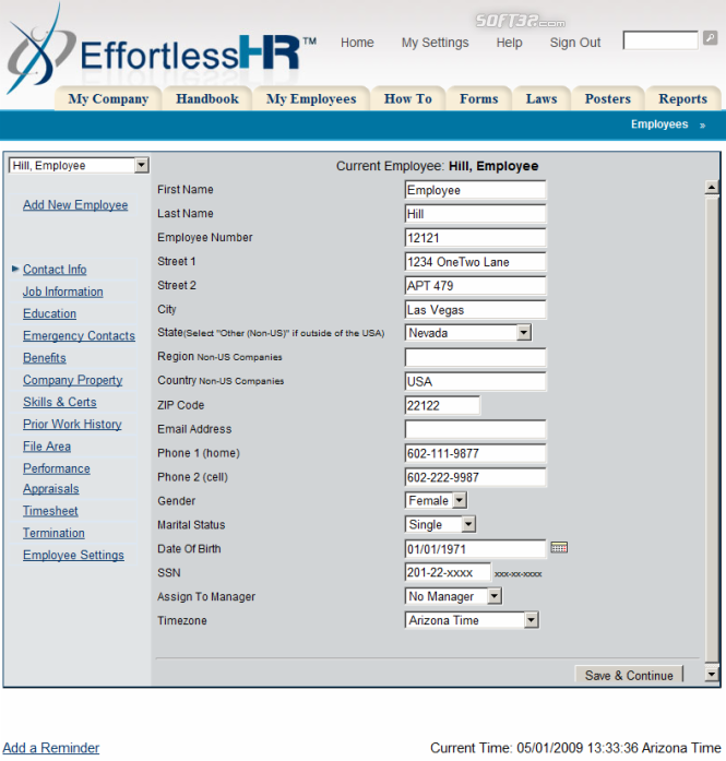 Effortless HR Software Suite Screenshot 3