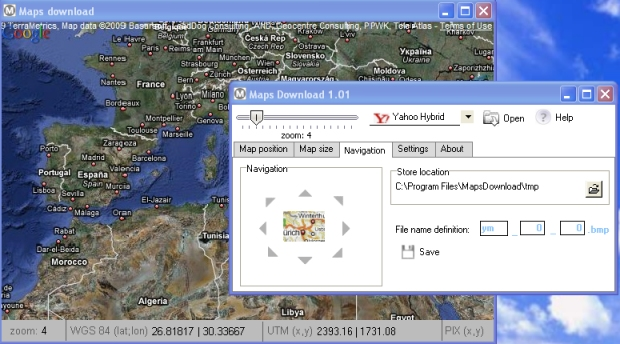 Maps download Screenshot